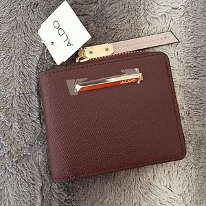 Aldo Plum Wallet NWT